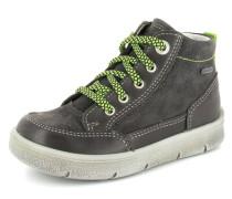 Sneaker Leder grau