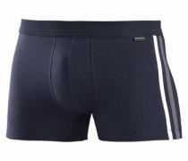 Boxer Shorts mit Kontrastpipings dunkelblau