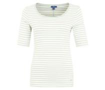 T-Shirt im Streifen-Look mint