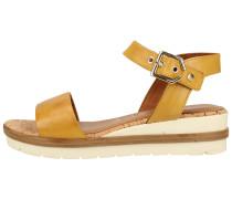 Sandalen gelb