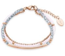 Armband mit Glassteinen »Soakt/188« pink