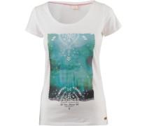 'melita' T-Shirt hellblau / weiß