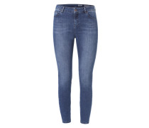 'Minnie Skinny' Skinny Fit Jeans dunkelblau