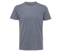 T-Shirt 'shhben Overdye SS O-Neck TEE Noos' saphir