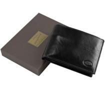 Story Uomo Geldbörse Leder 125 cm schwarz