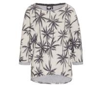 Shirt 'palm Springs' schwarz / weiß