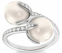 Silberring 'Ring Tr2079-167-14-50 54 58 60' silber