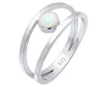 Ring 'Opal' silber
