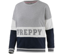 Sweatshirt 'Molly Jump' ultramarinblau / basaltgrau