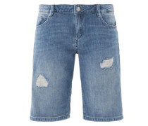 Smart Short: Jeans-Bermuda blue denim