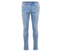 'Spun Light Blue' Slim Fit Jeans