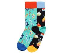 Socken 'Birthday Gift Box' mischfarben