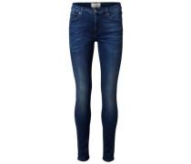 Slim-Fit-Jeans blue denim