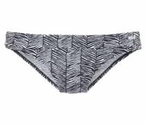 Bikini-Hose 'Sugar' schwarz / weiß