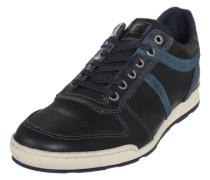 Sneaker aus Leder blau