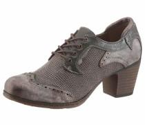 Shoes Schnürpumps braun / taupe / dunkelgrün