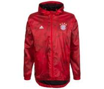 Windbreaker Kapuzenjacke 'FC Bayern München' rot