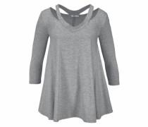 Sweatshirt 'Nasisa' graumeliert