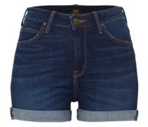 'high Short' Jeans blue denim