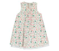 Kleid nitvalaia grün / weiß
