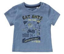 Baby T-Shirt für Jungen UV-Schutz 30+ blaumeliert