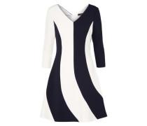 Kleid 'parabola' schwarz / offwhite