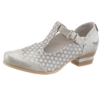 Shoes Spangenpumps silber