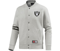 Athletic Oakland Riders Collegejacke Herren grau