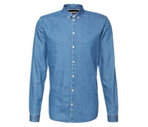 Jeanshemd 'Barden' blau
