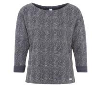 Sweatshirt 'Blizzy' graumeliert