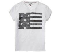 T-Shirt (mit Arm) 'thdw Basic CN T-Shirt S/S 4' weiß