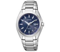 Armbanduhr mit Gangreserve »Ew2210-53L« navy / silber