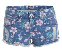 Shorts mit Print blau / mischfarben