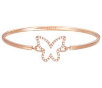 Armreif mit Strasssteinen »Schmetterling -Jw50219 Rose Esba01179C600« gold