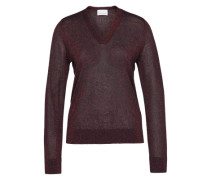V-Neck Pullover 'Phillippe' blau / rot