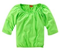 ¾ Arm Shirt für Mädchen grün