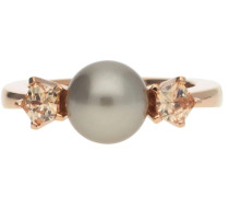 Damen Fingerring Silber Rosegold Gwyneth Jprg90593B gold