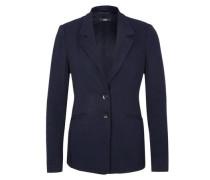 Jersey-Blazer mit Nadelstreifen nachtblau