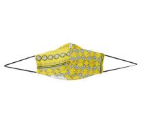 Stoffmaske gelb