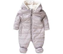 Baby Overall für Mädchen grau
