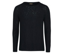 Pullover 'slub' schwarz