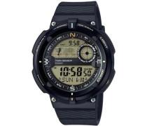 Chronograph 'sgw-600H-9Aer' dunkelgrau / schwarz