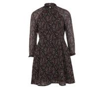 Kleid mit Rüschen 'VMHarly' schwarz