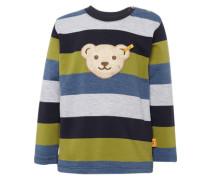 Sweatshirt 'Sweatshirt 1/1 Arm' grün / mischfarben