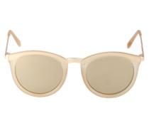 Sonnenbrille 'No Smirking' beige