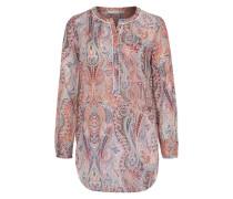 Bluse mit Allover Paisley-Muster mischfarben