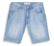 Jeansshorts 'F 5P Slim' blue denim