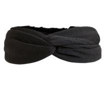 Haarband Krepp schwarz