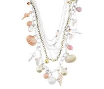 Halskette altrosa / silber