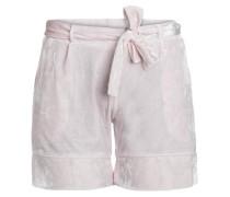 Velours Shorts rosa